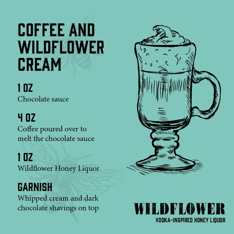 Coffee and Wildflower Cream